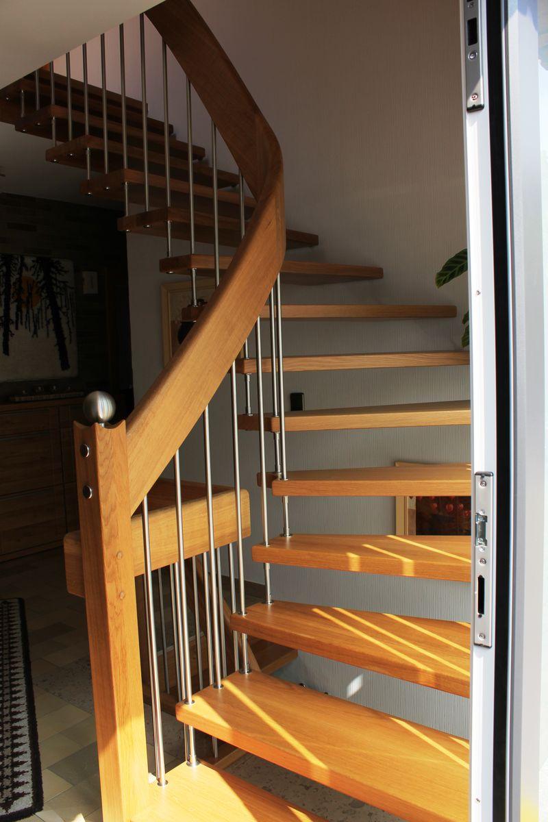 wortmann treppen gel ndertragende treppen. Black Bedroom Furniture Sets. Home Design Ideas